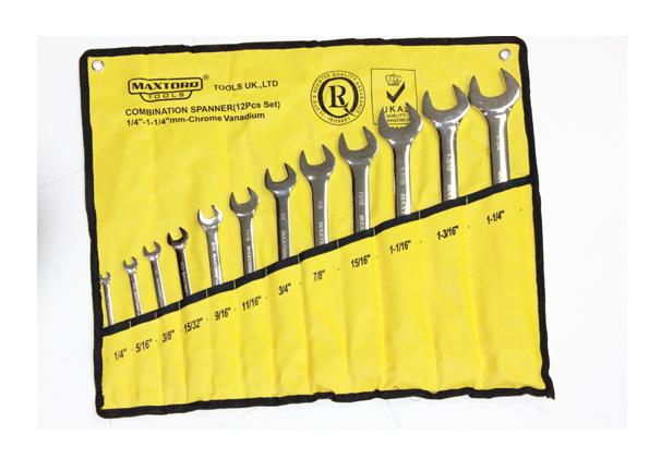 Combination Spanner Sets- Inches