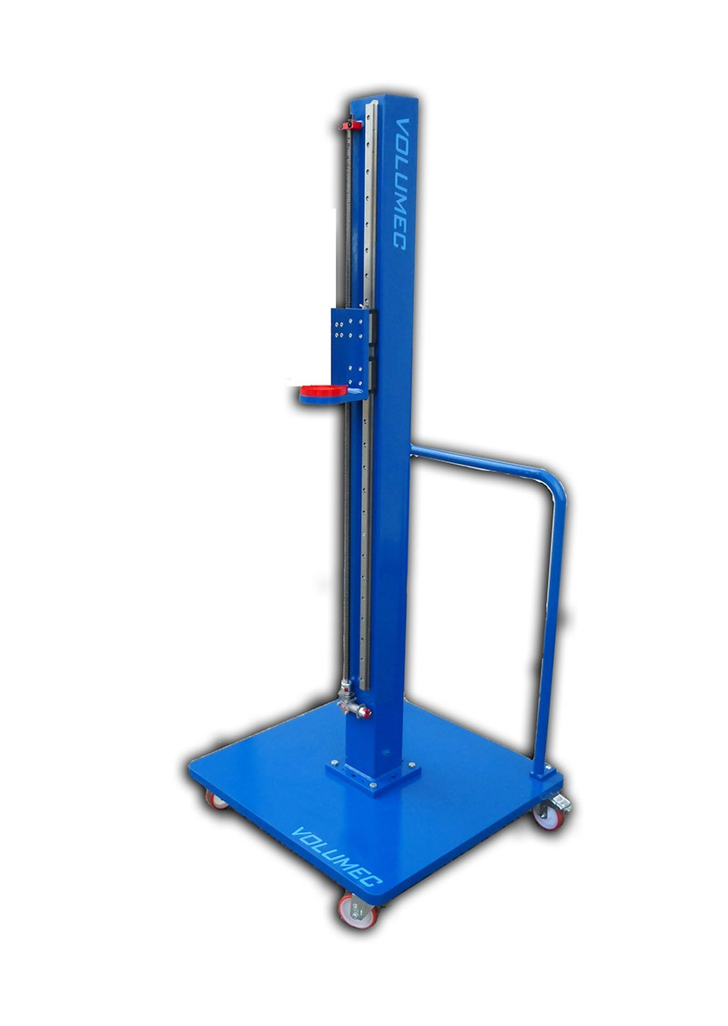 Trolley with lifting column CCM001