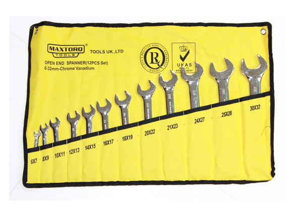 Open End Spanners Set - Metric