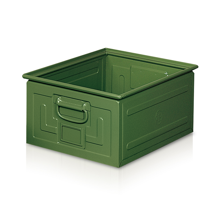 Metal Container w/ handles - 0510
